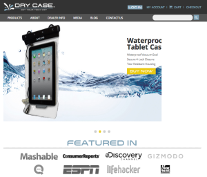 DryCASE Website 1