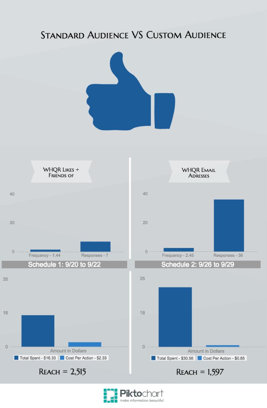 Standard Audience vs. Custom Audience