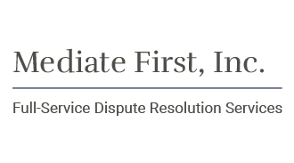 logo for Mediate First, Inc.